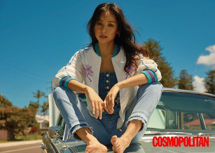 Lee Hyori Cosmopolitan March Lee Hyori Kpop Profile Lee Hyori 2017 Comeback Lee Hyori Lee Sangsoon Lee Hyori Photos Lee Hyori Photoshoot Korean Celebrities