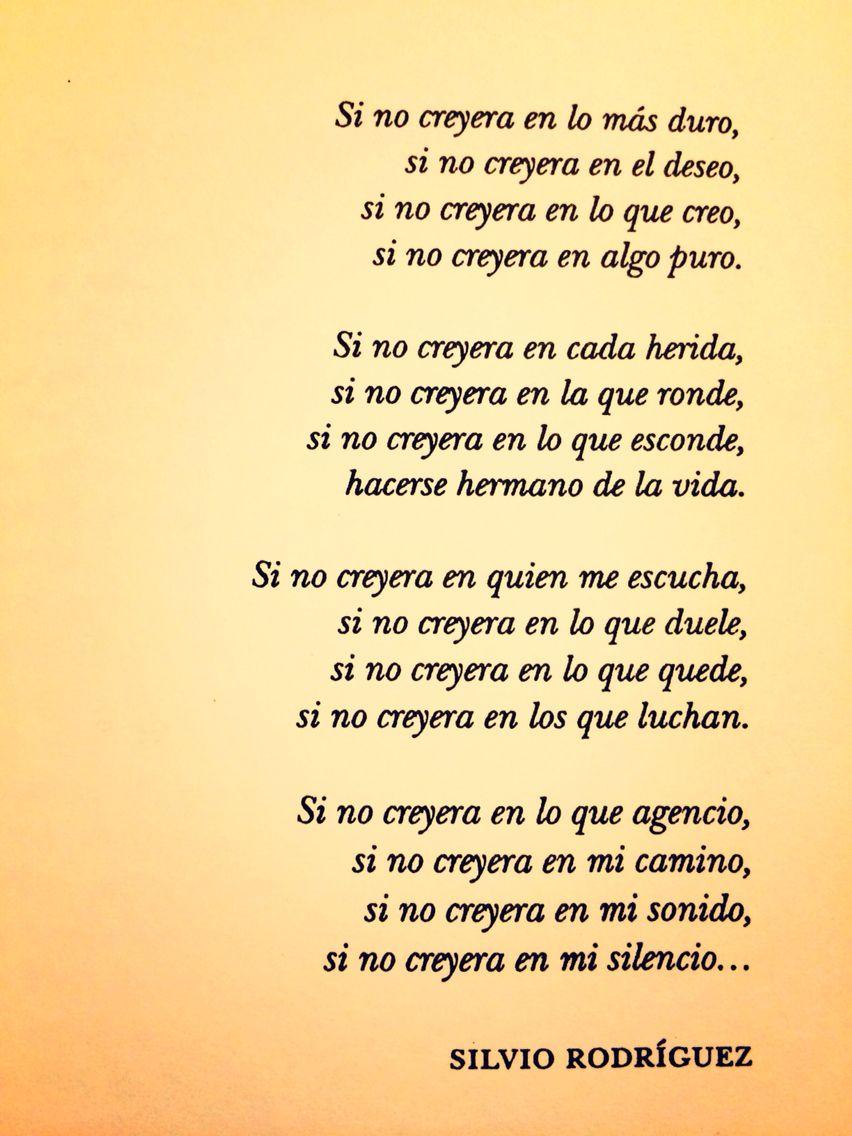 94 Ideas De Silvio Rodríguez Canciones Trovas Frases De Canciones