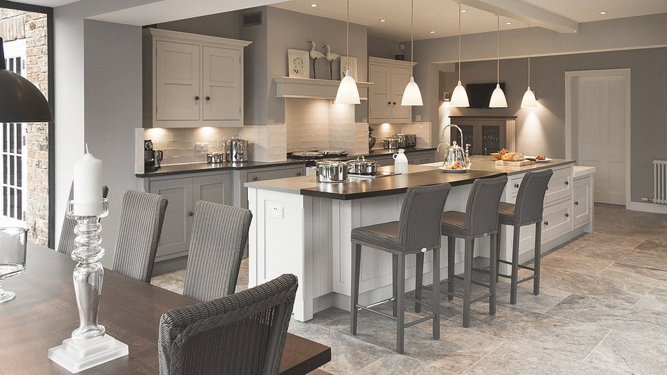 A bespoke shaker kitchen designed by Cheshire