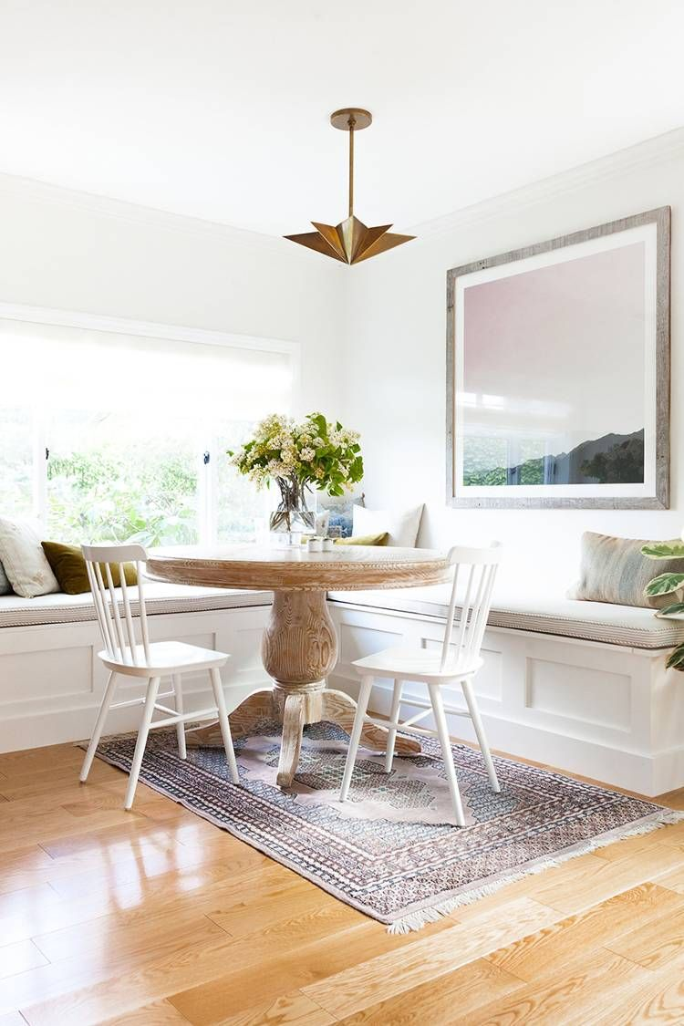 Beautiful breakfast nook Step Inside the Sophisticated