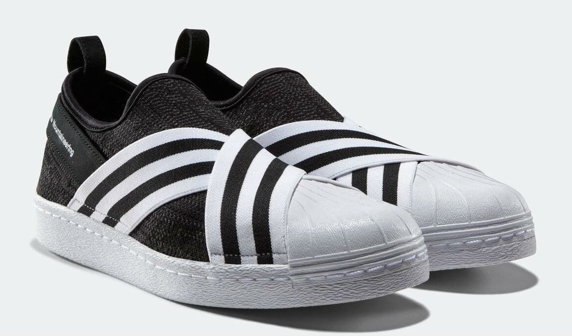 White Mountaineering and Adidas Slip On Something a Little More Comfortable