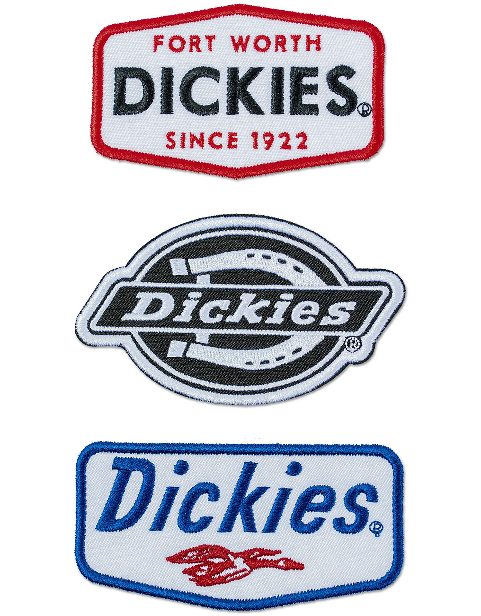 Dickies Logo Iron-on Patches, 3-Pack | Accessories | Dickies ...