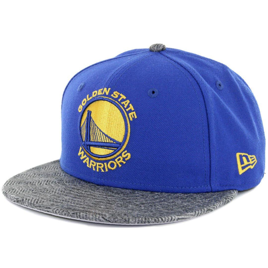b25fe403 Era 5950 Gripping Vize Golden State Warriors Fitted Hat (Royal Blue) Nba Cap