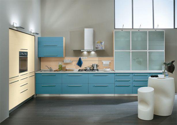 Wonderful Kitchen Design for Your Kitchen Inspiration: Ala Cucine Blue Kitchen ~ urbanbedougirl.com Kitchen Inspiration