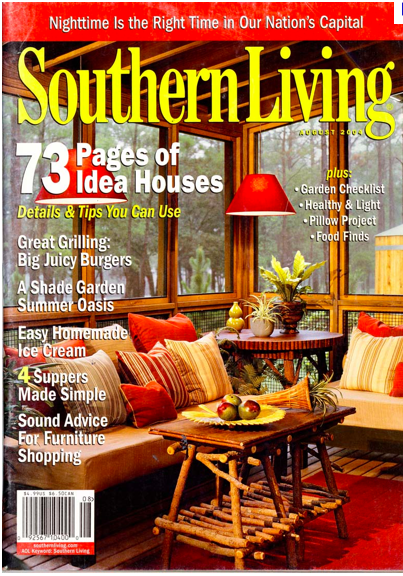 Home And Living Magazine southern living showcase home our design plans