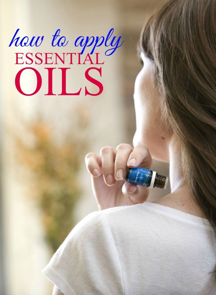 Learning how to apply essential oils isn't difficult. These tips for applying essential oils will show you how to apply and when to dilute your essential oils.