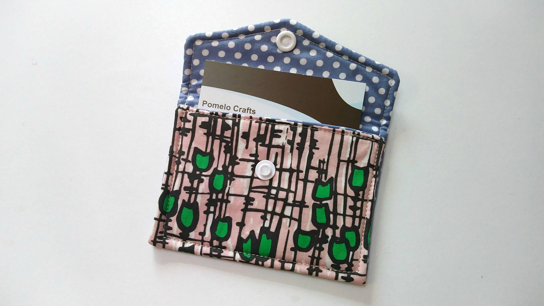 Credit card holder business card case business card