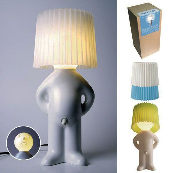 Wacky Lamps 40 of the most creative lamp designs ever (or, at least until