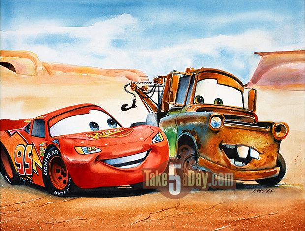Blog Archive   » Mattel Disney Pixar Diecast CARS: The Real Art of CARS