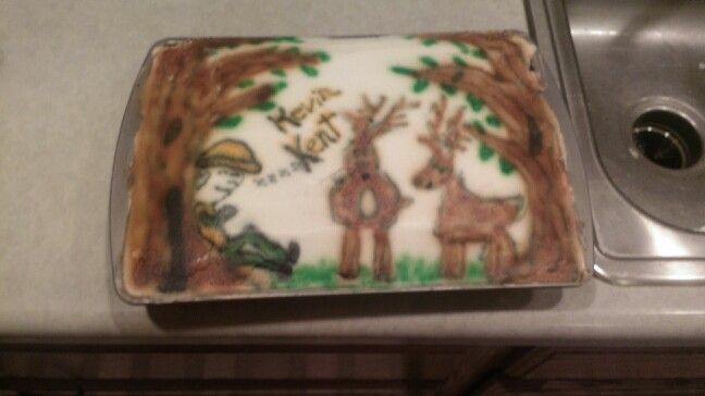 Deer hunters cake