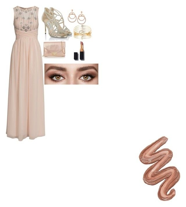 """""""wedding bells"""" by baby-rae ❤ liked on Polyvore featuring Little Mistress, Jimmy Choo, Loeffler Randall, Charlotte Russe and Violet Voss"""