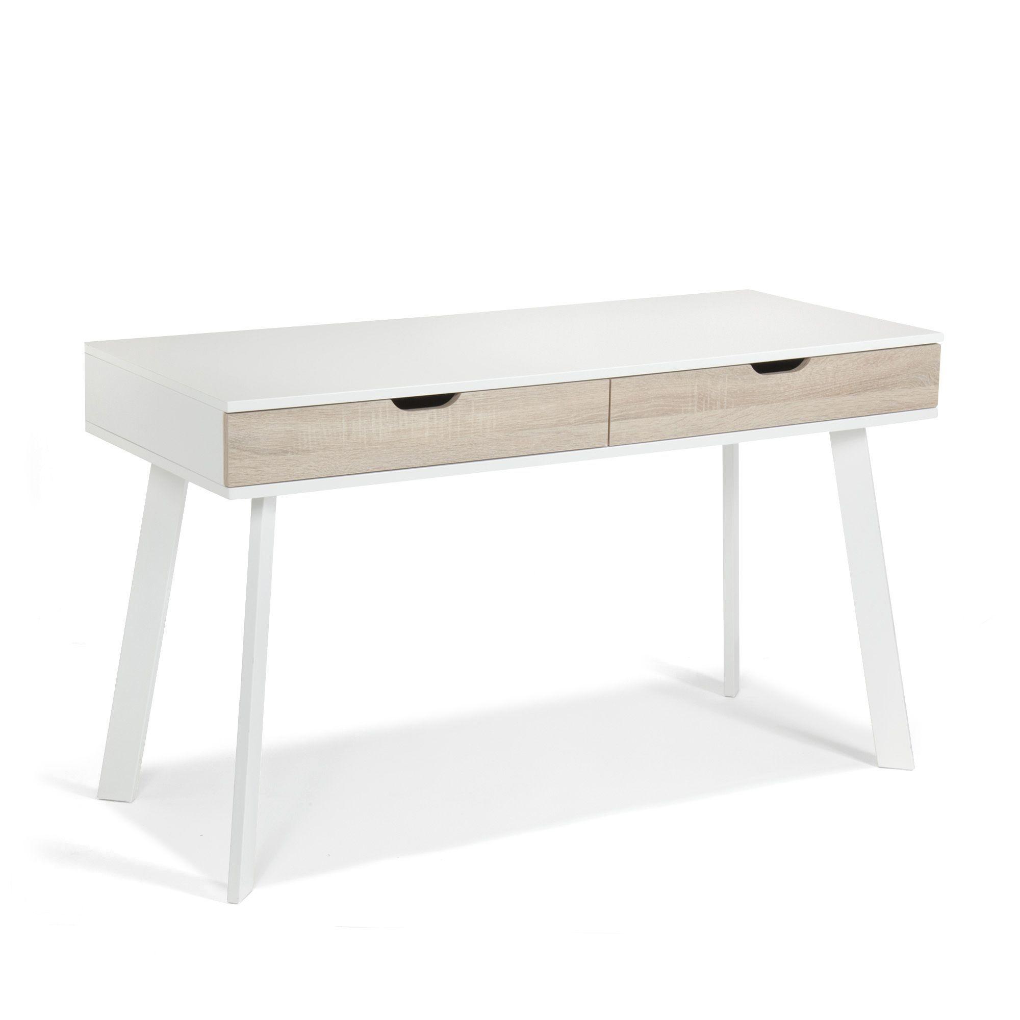 Bureau tiroirs style scandinave Aquila prix promo Alinea 14900
