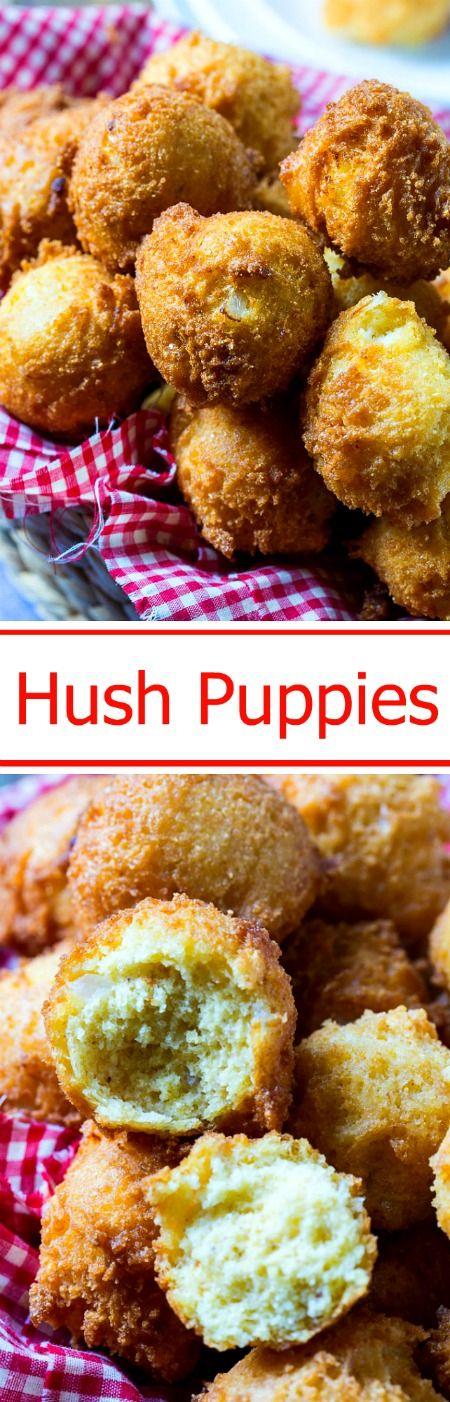 Hush Puppies Recipe Hush Puppies Recipe Food Recipes Yummy Food