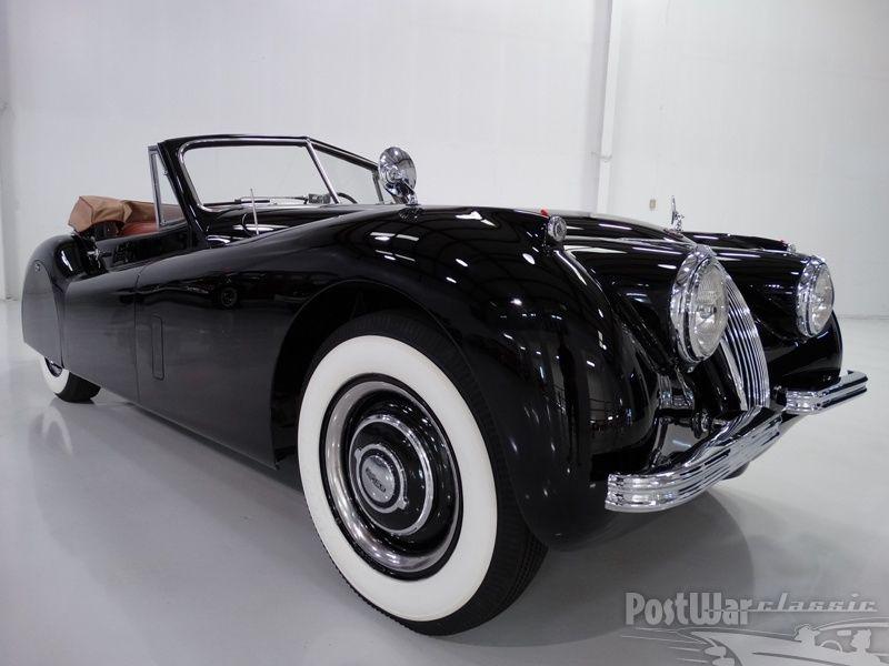 Jaguar XK120 convertible 1954 for sale 2
