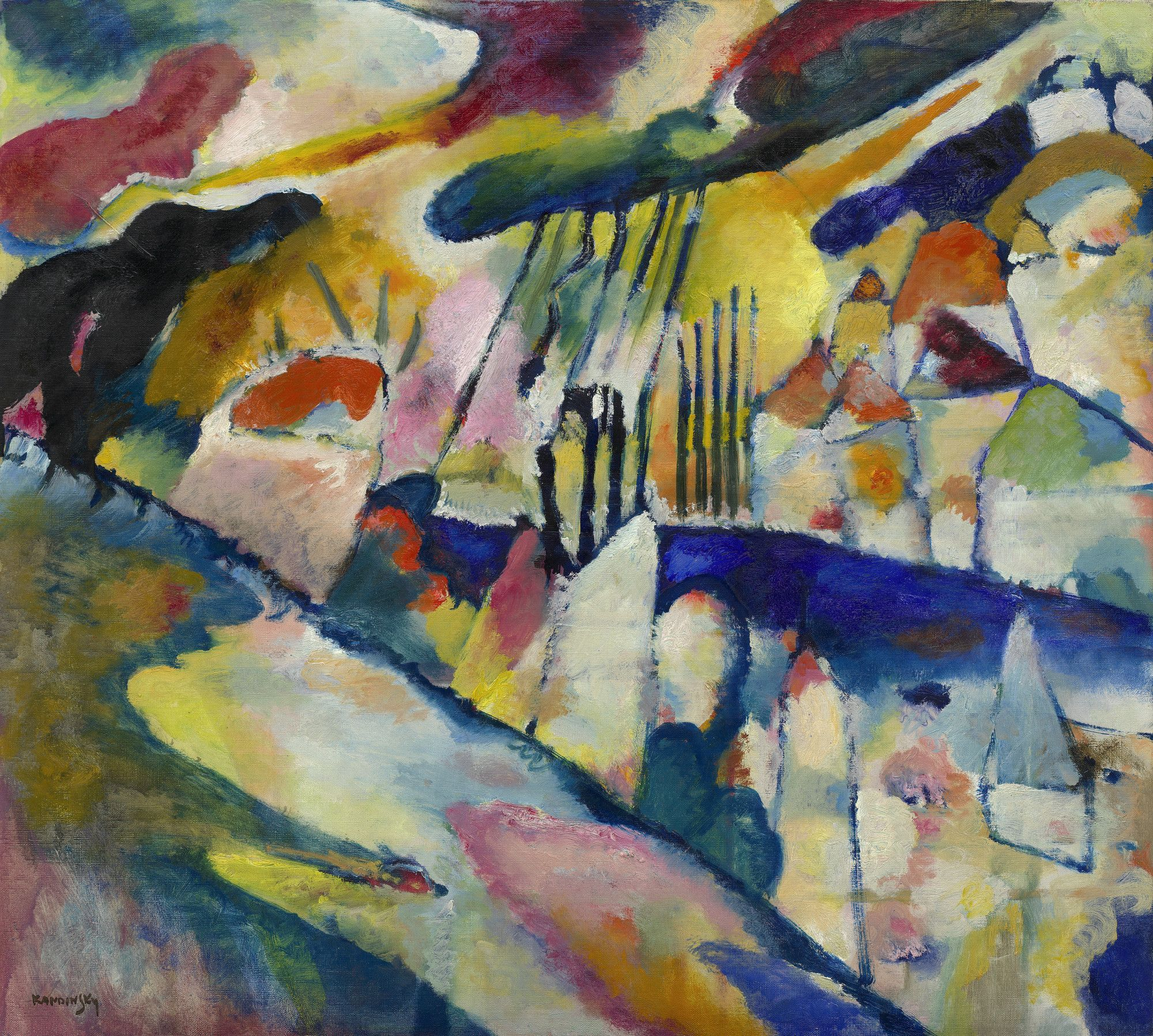 kandinsky paintings guggenheim - HD2000×1798