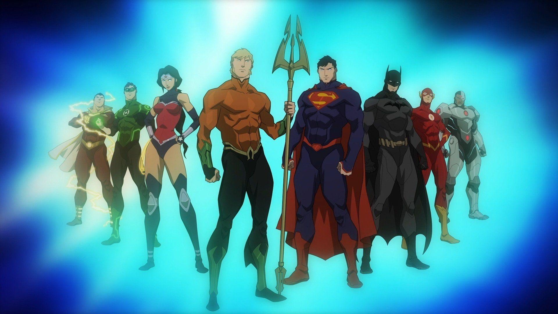 Movie Justice League Throne Of Atlantis Wallpaper