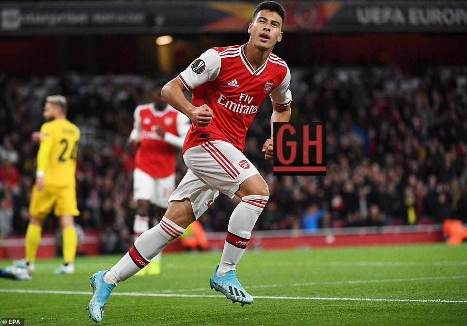 Arsenal 4 0 Standard Liege Europa League Football Today League