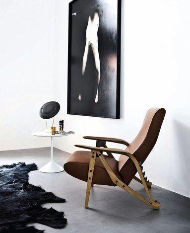 minimalist monochrome with mid century furniture eye candy home rh pinterest com