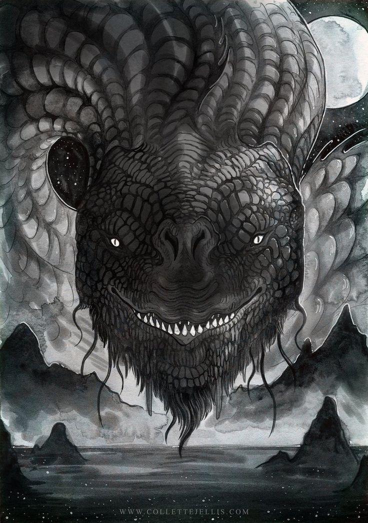 Jörmungandr, sometimes referred to as the Midgard Serpent (or World Serpent) is...,  #Jörmung... #norsemythology