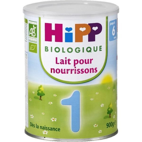 Lait 1er âge en poudre pour  bébé de 0 à 6 mois HiPP   Tout pour mon ... 07bbb8db0534