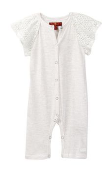 c9db5919e5a3 7 For All Mankind - Lace Coverall (Baby Girls)