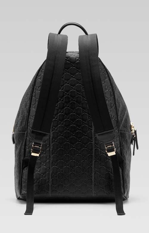 39cd4070d Gucci Backpack for Men | Gucci men's black guccissima leather backpack