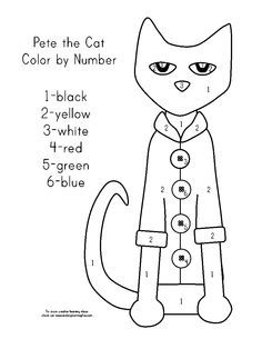 pete the cat buttons coloring pages by joseph - Pete The Cat Coloring Page