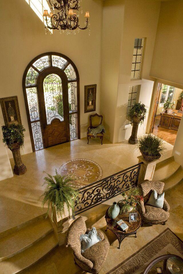 20 Stunning Front Door Designs: Raised Entrance; LOOOOOOVE