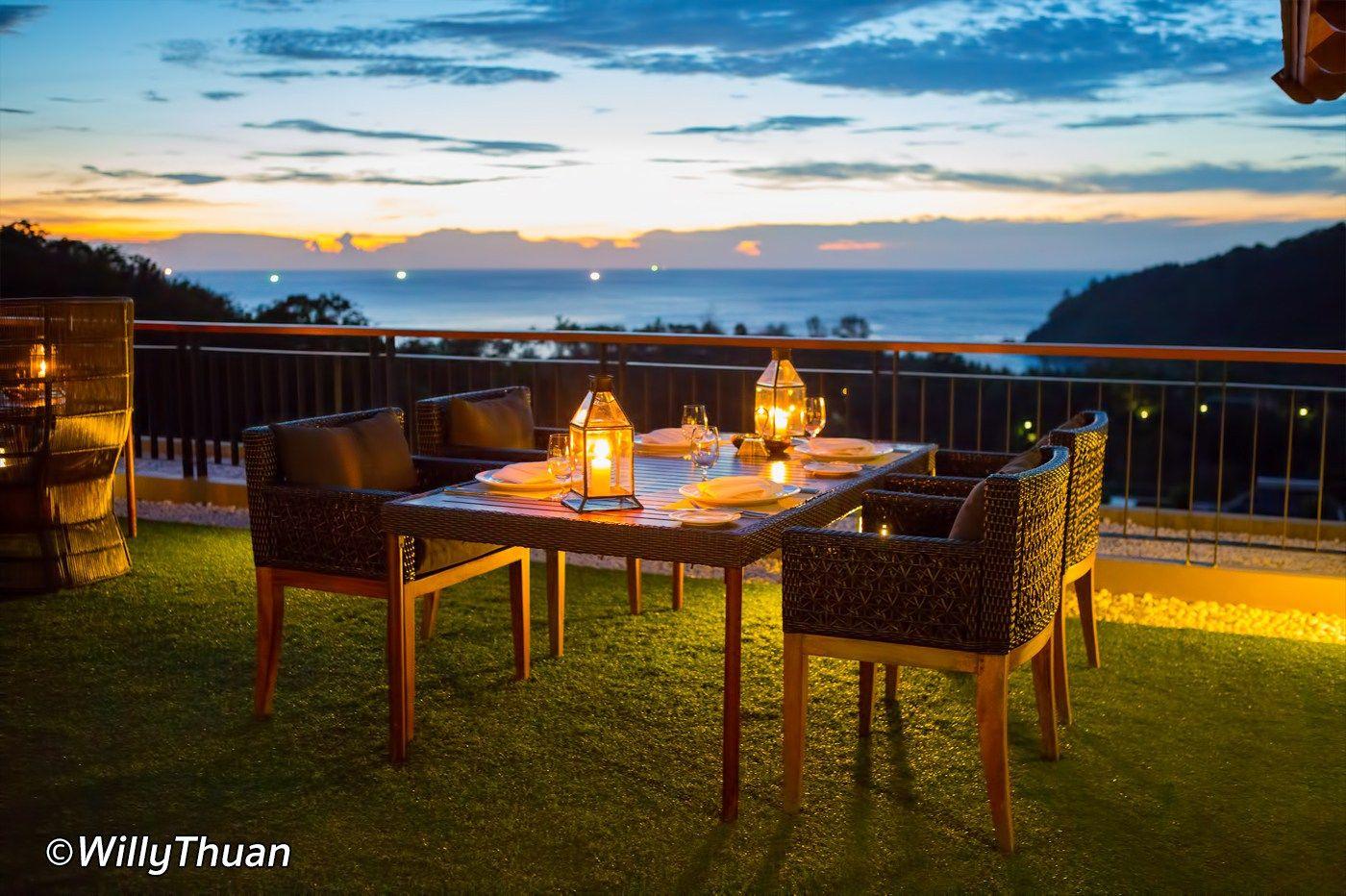 Heaven Rooftop Restaurant Thailand Pinterest
