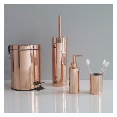 Collier Copper Bathroom Beaker