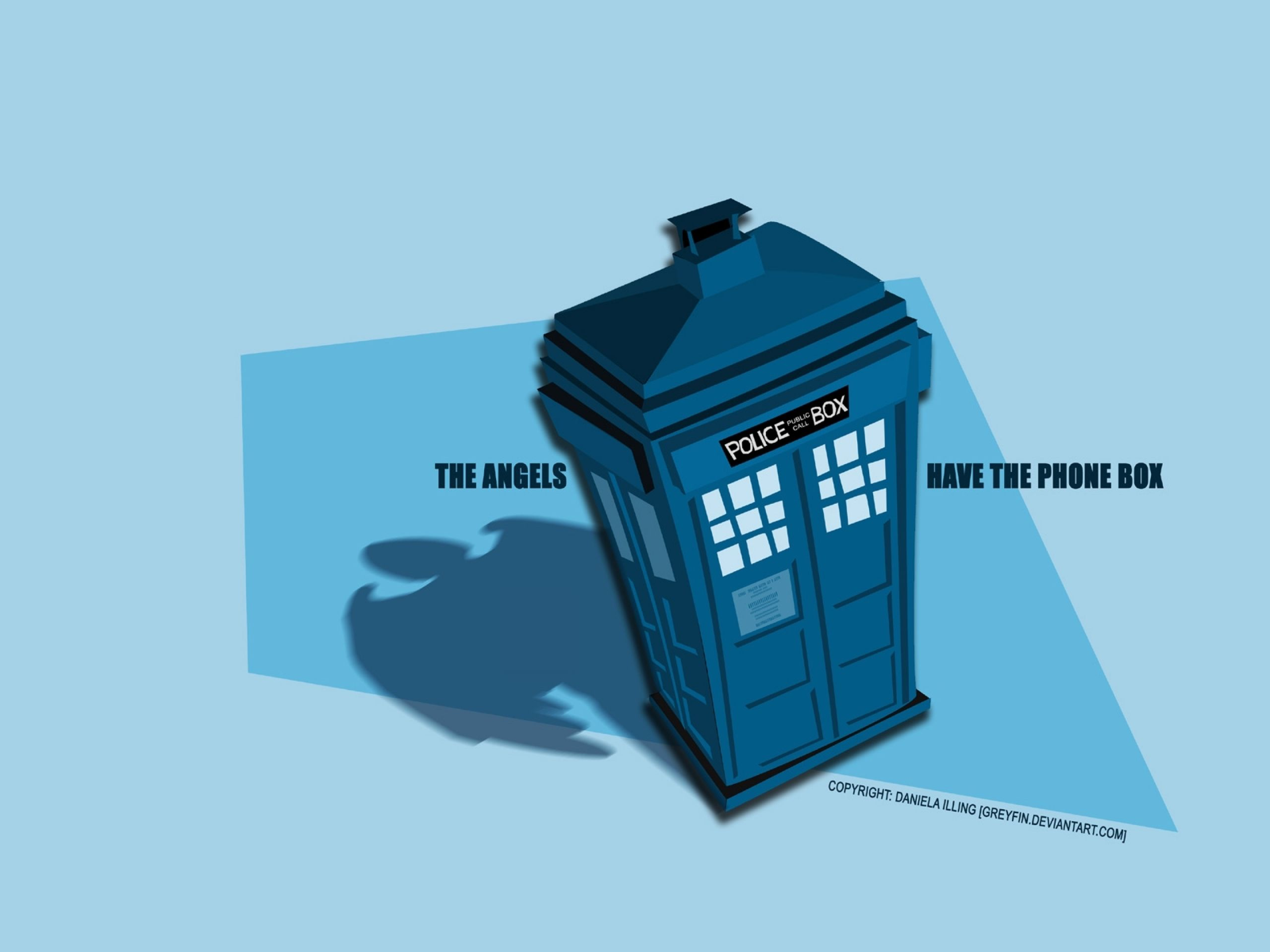 tardis doctor who weeping angel 1600x1200 wallpaper Art HD