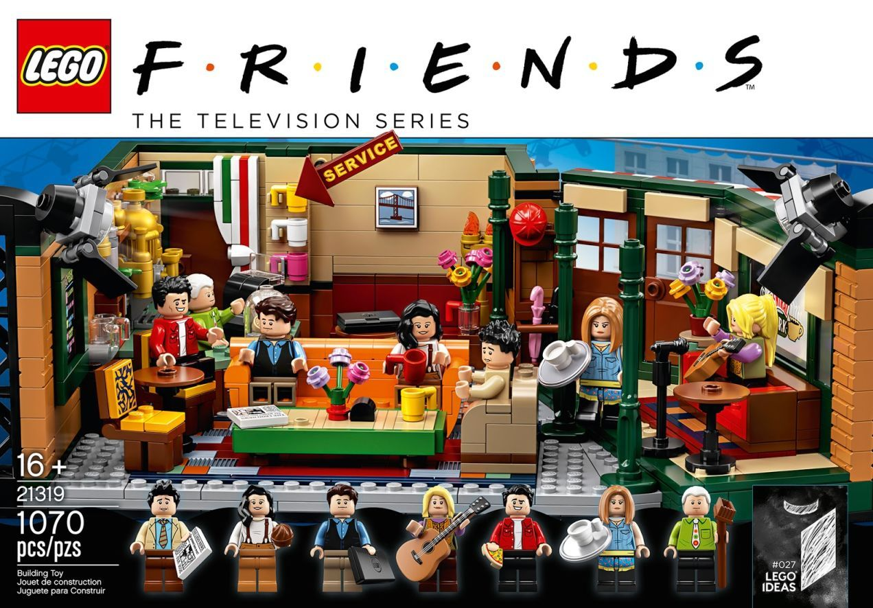 Lego's Friends Central Perk Set Is An Impressive ...