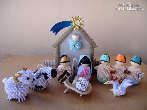 Presépio Yuka Origami ♥ : Presépio Yuka Origami  [b]Acessem: http://yukaorigami.multiply.com[/b]  Beijihos com gostinho de sushi!  CRIS YUKA http://yukaorigami.multiply.com/ http://www.sushiyoshi.com.br http://twitter.com/sushi_yoshi | yuka10