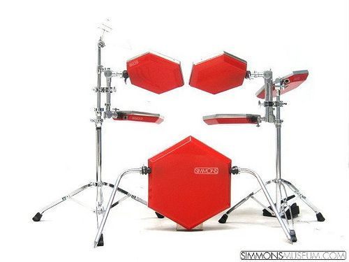 Flickriver Simmons Electronic Drums Pool Music Recording Equipment Vintage Drums Drum Pad