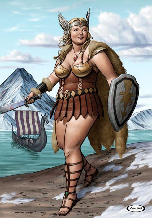 Прикольные картинки девушка викинги, измены жены