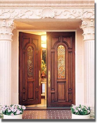 Your Front Door Should Open Inward To Bring In Money Beautiful Front Doors Cheap Exterior Doors Home Door Design