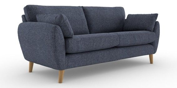 buy wilson extra large sofa 4 seats multi texture navy low retro rh pinterest com