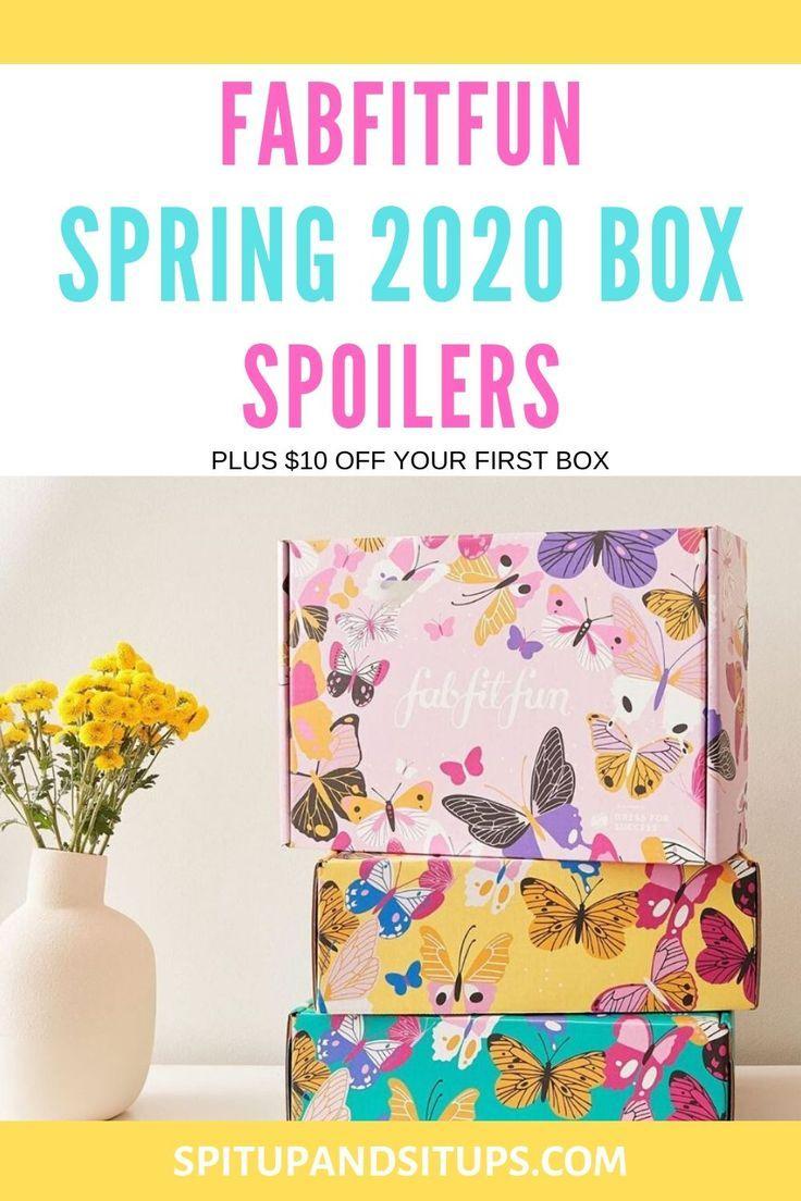Fabfitfun spring 2020 box spoilers fabfitfun ag hair