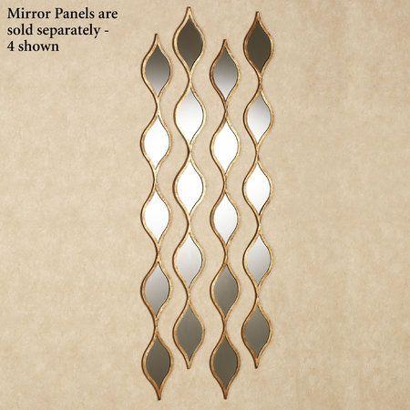 Ophelia Teardrops Mirrored Wall Accent Home Decor Decor Mirror