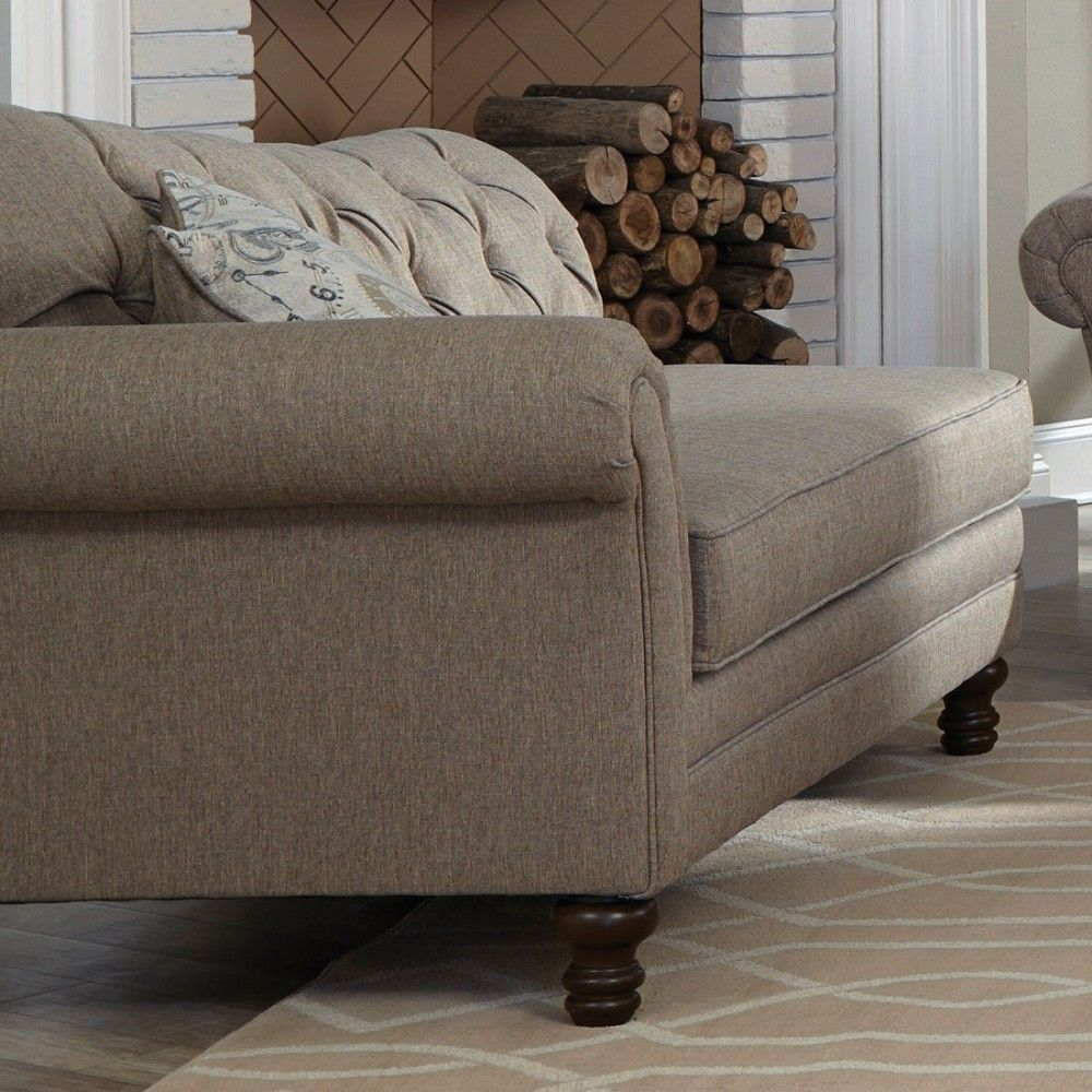 Room Coaster Carnahan Traditional Chaise with Single