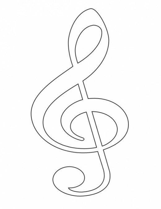 Free Clip Art Music Symbols Treble Clef Clip Art Music