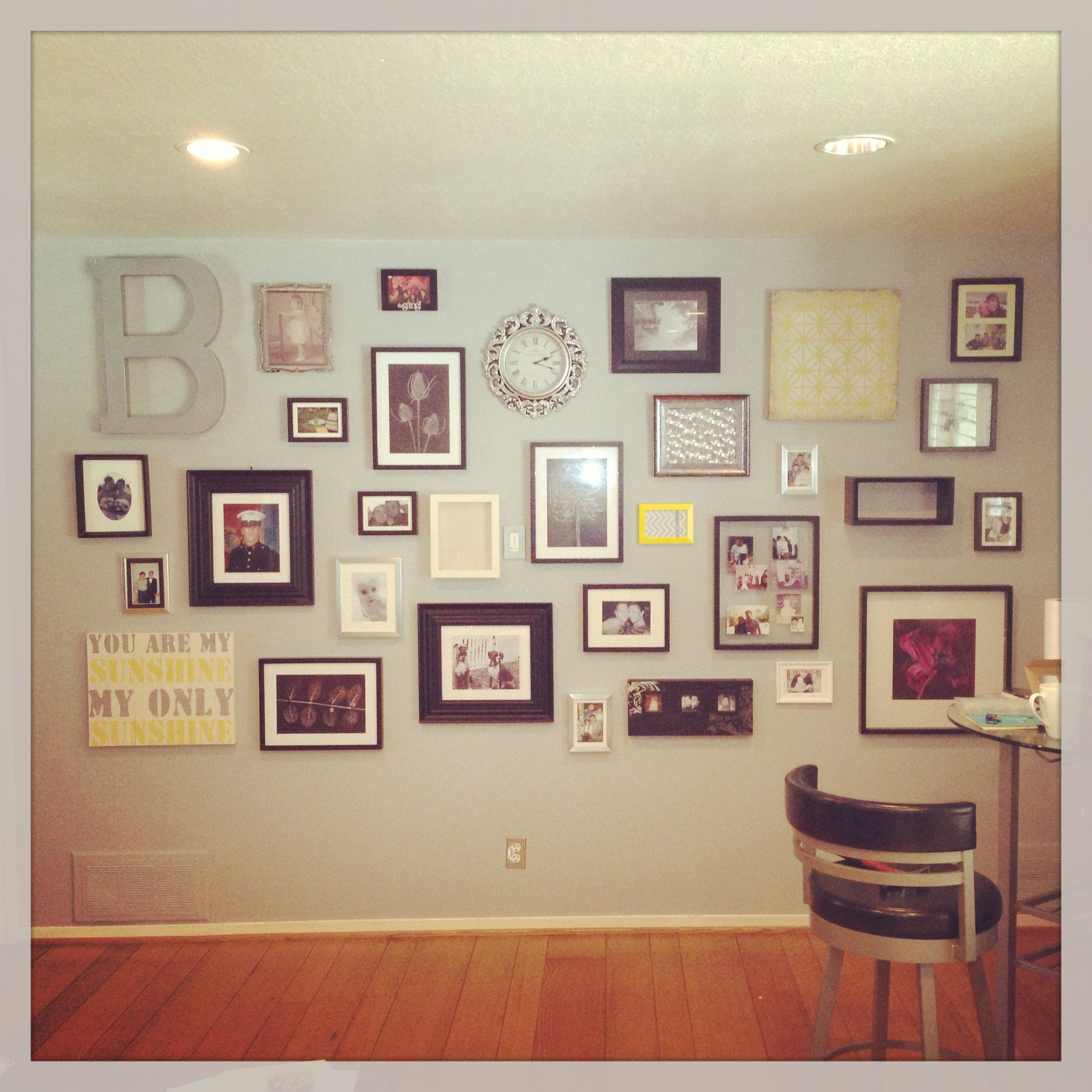 My wall collage home projects home decor home wall collage - Wall collage ideas living room ...
