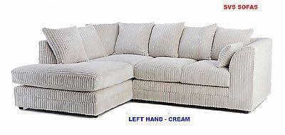 details about dylan chicago new jumbo cord left hand corner sofa rh pinterest com
