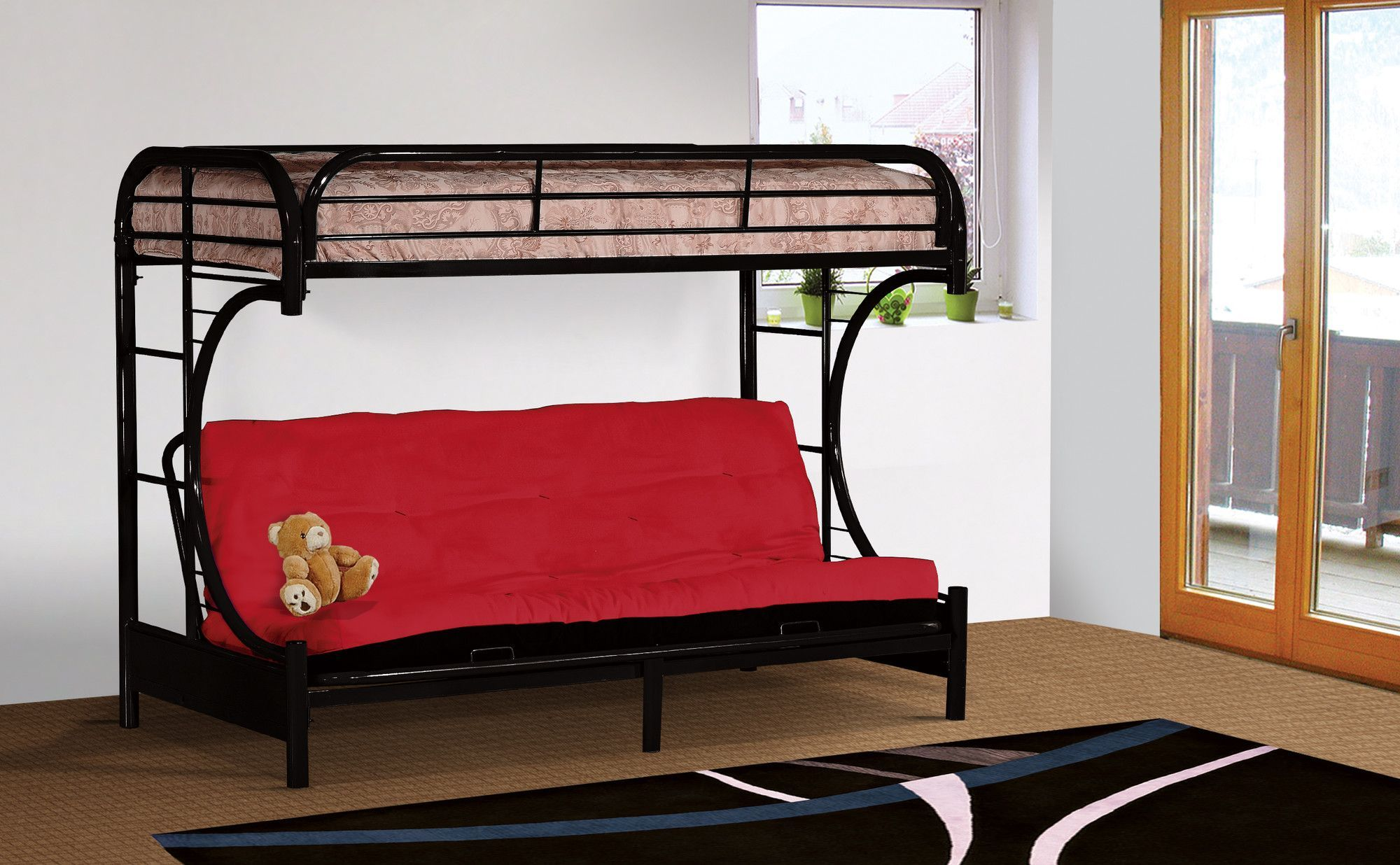Twin Over Full Futon Bunk Bed Products Bunk Beds Futon Bunk Bed