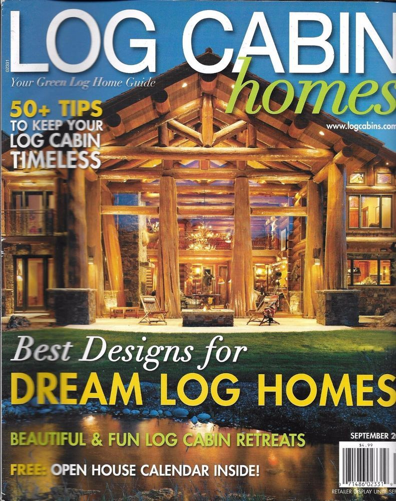 Charmant Log Cabin Homes Magazine Best Dream Designs Lakeside Legacy Beautiful  Retreats