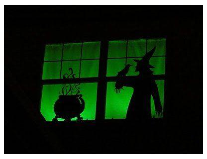37++ Diy halloween silhouette window ideas in 2021