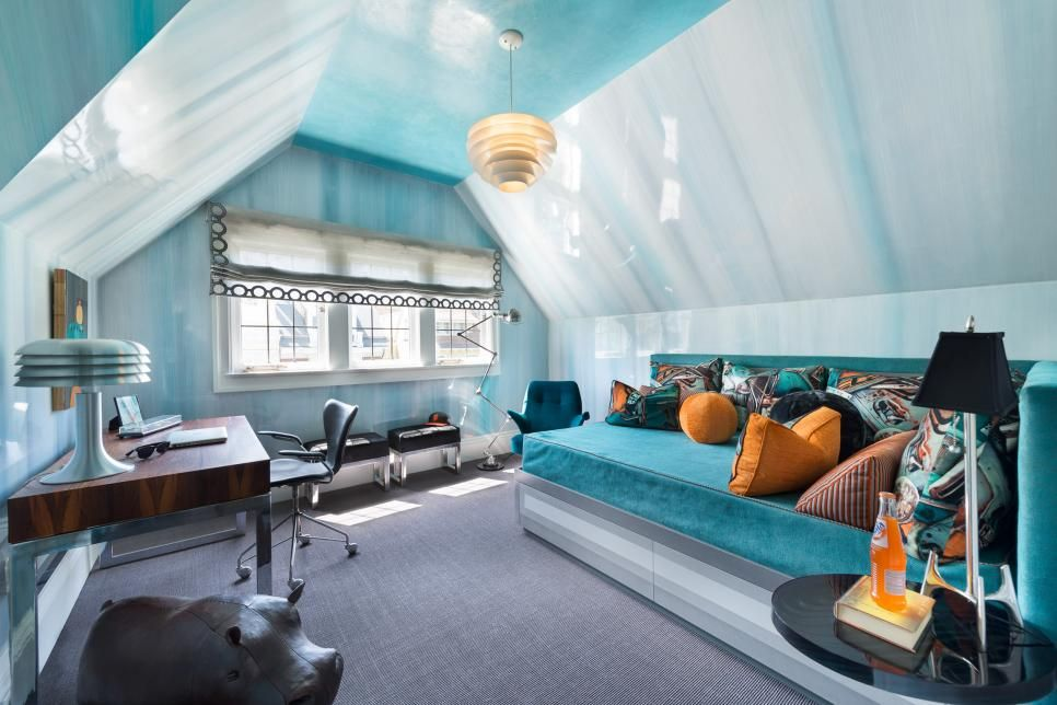 Teen Boy Bedroom Decorating Ideas Wall finishes, Bedroom boys and Hgtv