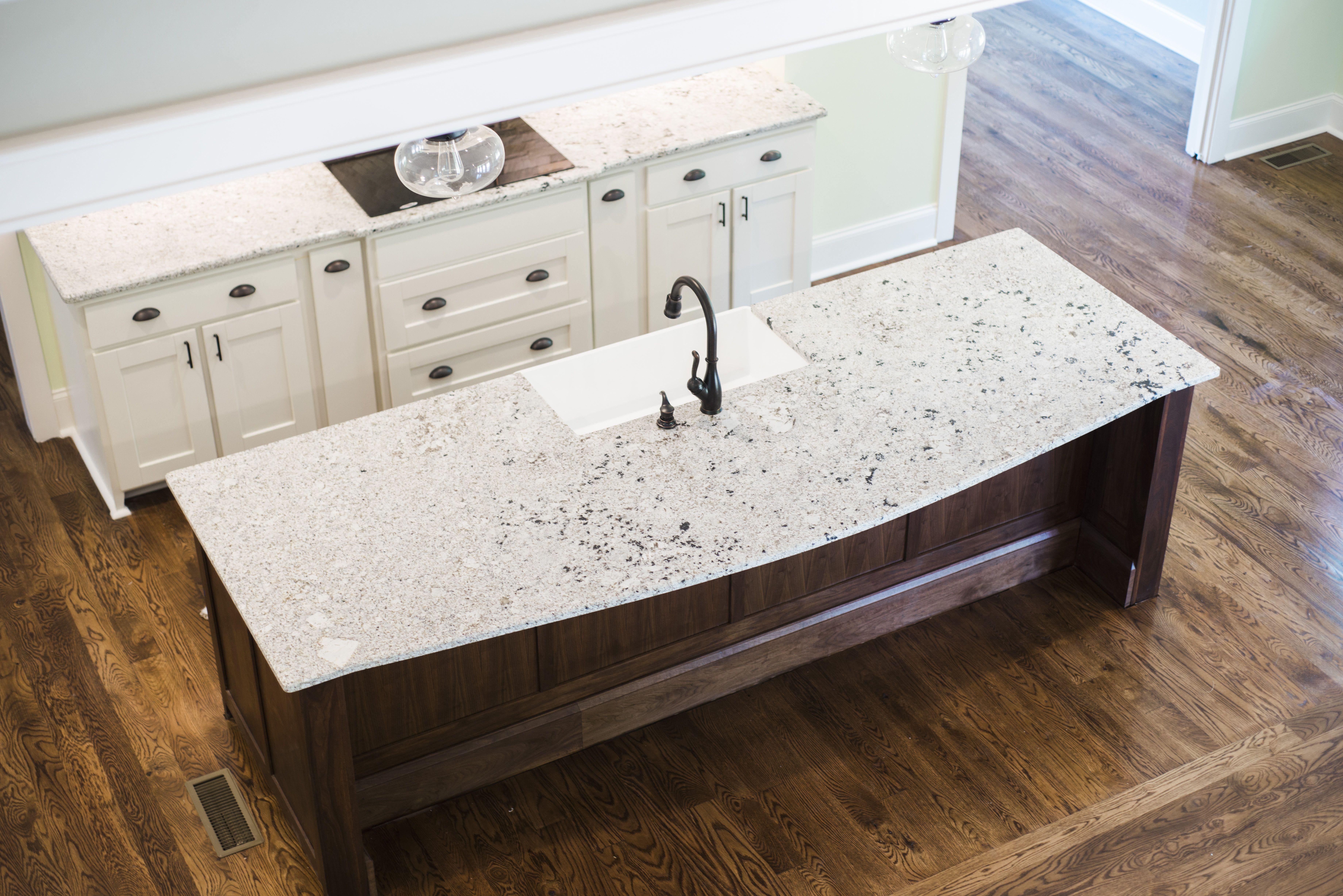 gorgeous kitchen with royal white granite on a 13ft island rh pinterest com