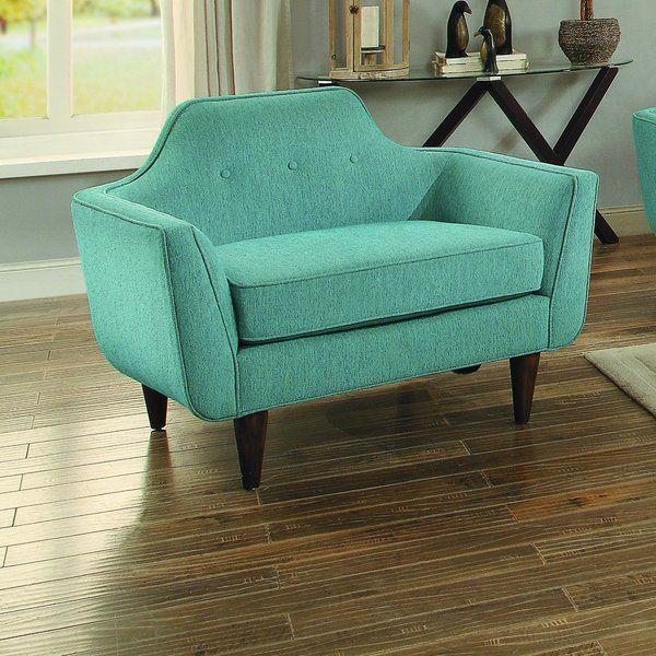 Langley Street Ewing Chair And A Half Reviews Wayfair