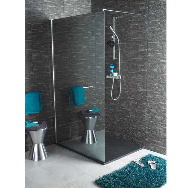 paroi de douche lapeyre chrom salle de bain salle de. Black Bedroom Furniture Sets. Home Design Ideas